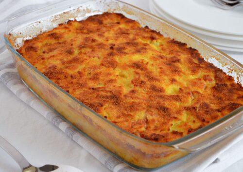 La pitta di patate cucinata da Chef Totu